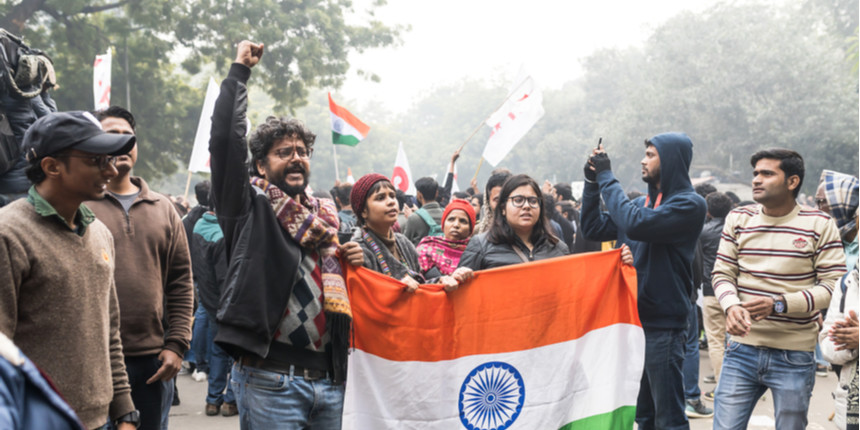 Bhima Koregaon: Students support DU teacher called for questioning