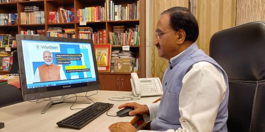 Ramesh Pokhriyal launches Prabandh portal for Samagra Shiksha Abhiyan