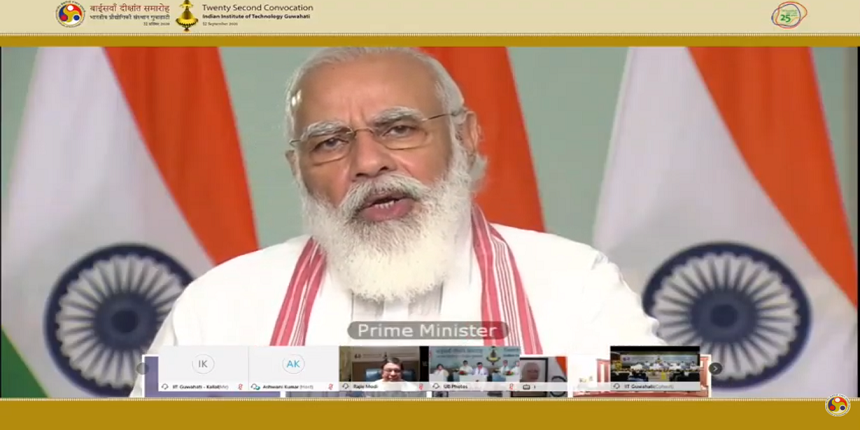 PM Modi to IIT Guwahati: Start a centre for disaster management