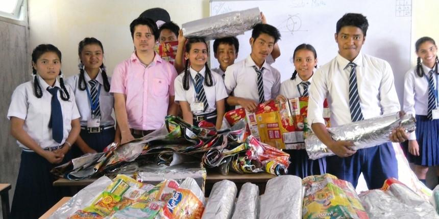 Teachers' Day 2020: A maths teacher's solution to the plastic problem