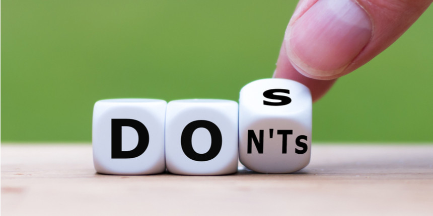 IPMAT 2020 - Do's and Dont's to be followed at the exam centre