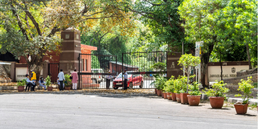 JNU shuts its central library during lockdown in Delhi