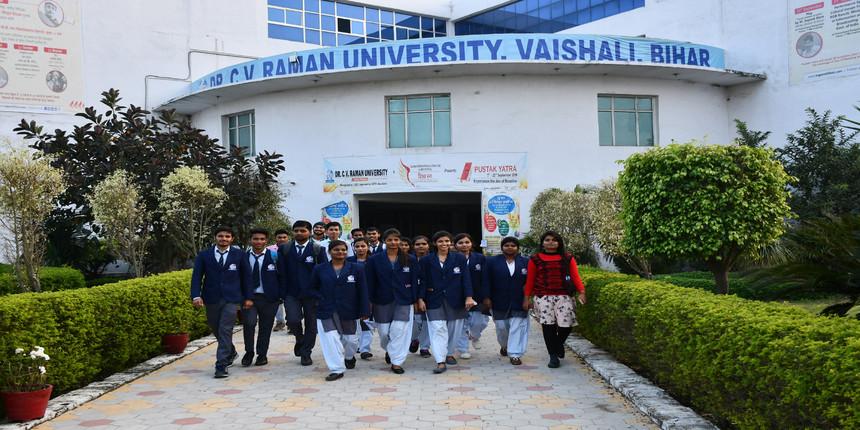 CVRU Bihar 2021 online admission begins for UG and PG courses