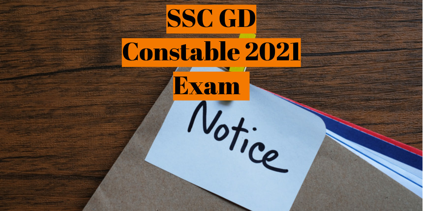 SSC GD Constable 2021 exam notification will be released between June 10-15