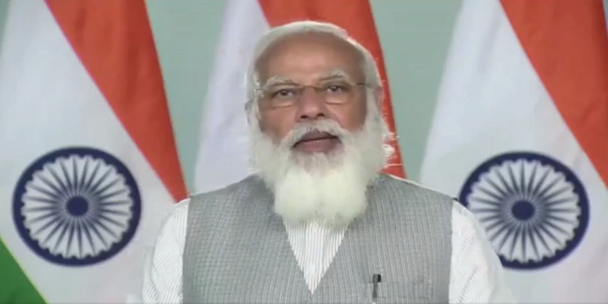 PM interacts with Class-12 students, asks to utilise time productively post exam cancellation