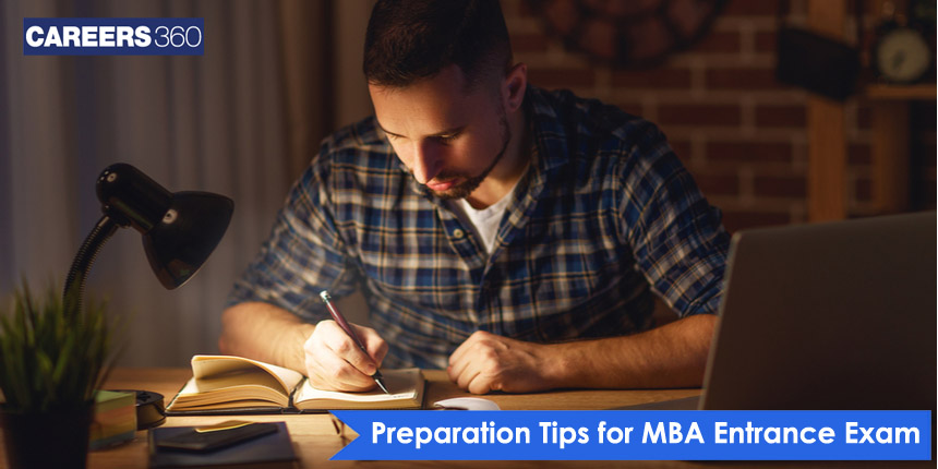 How do I prepare for the MBA entrance exams?  - Sectional tips, strategy & instructions
