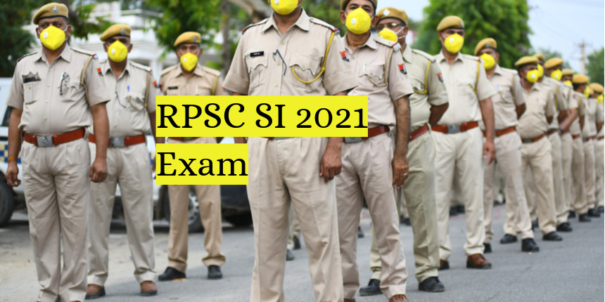 RPSC SI exam 2021 date declared at rpsc.rajasthan.gov.in