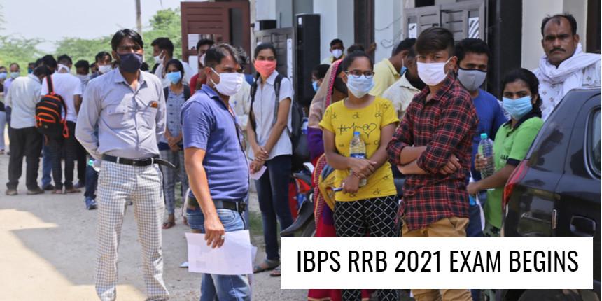IBPS RRB 2021 exam begins amidst COVID-19