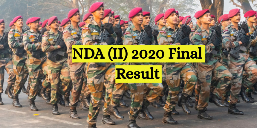 NDA II 2020 final result announced at upsc.nic.in; check details here