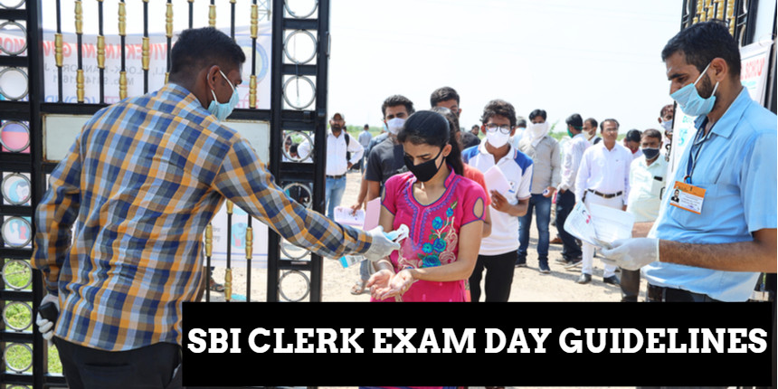SBI Clerk 2021: Check exam day instructions and COVID-19 guidelines