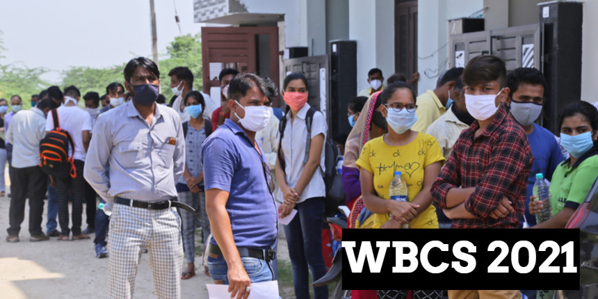 WBCS prelims exam 2021 begins; Students were allowed only after thermal screening