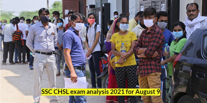 SSC CHSL Tier 1 exam analysis for August 9; Check expected cut-off and difficulty level here