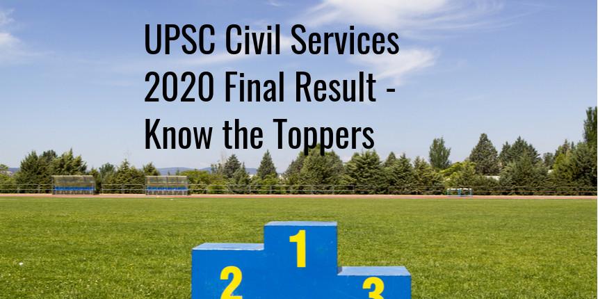 UPSC IAS 2020 Final Result: Shubham Kumar Tops, 761 candidates qualify