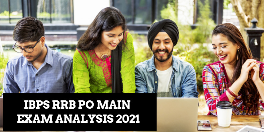 IBPS RRB PO 2021 mains exam analysis; Check difficulty level and cut off here