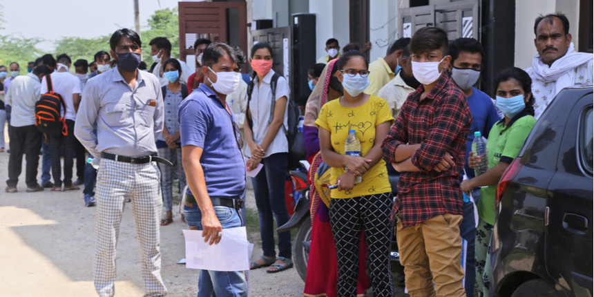 REET 2021 exam concludes amid tight security; Check expected cut off here