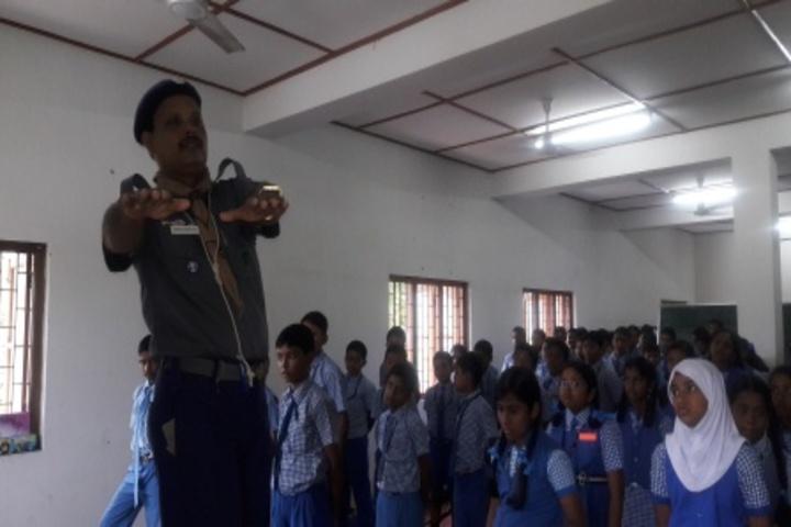 Kamaraj English Medium School-Scouts