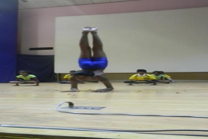 Kamaraj English Medium School-Yoga