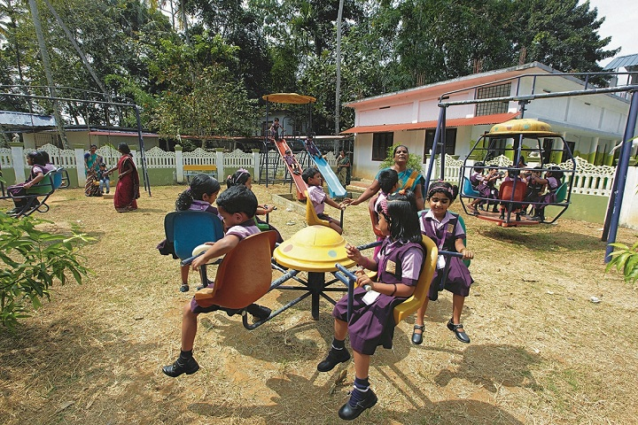 Sundarsanam Central School-Kids Play Area
