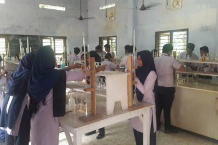 Thanveer Central School-Chemistry Lab