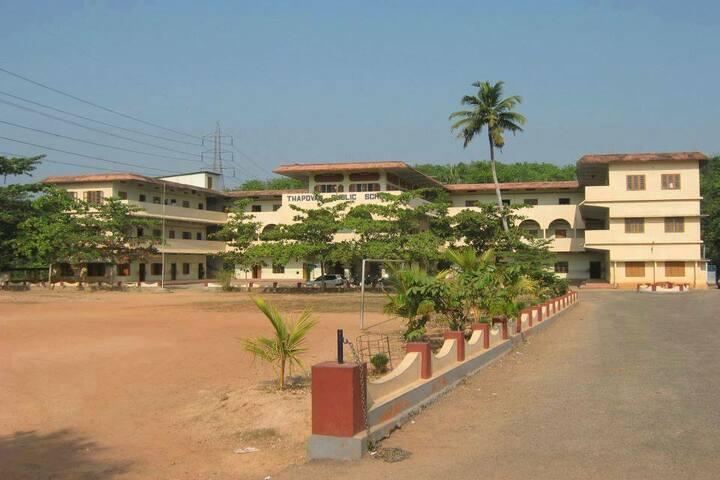 Thapovan Public School-Campus View