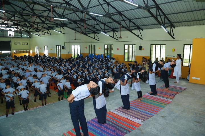 The Dawn Public School-Yoga