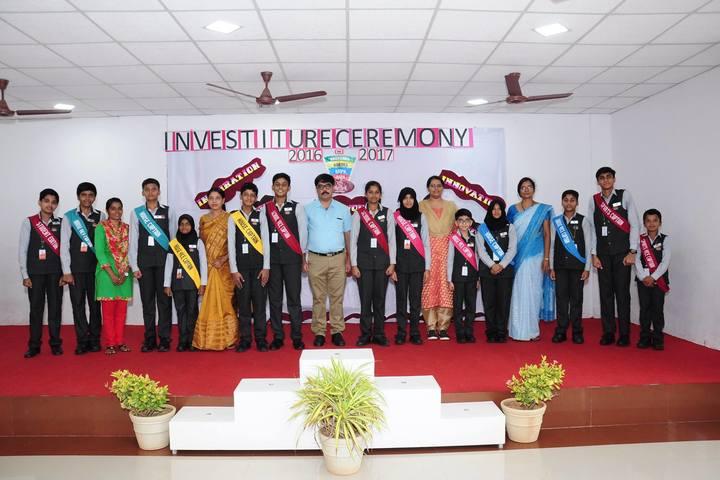 The Elegant Public School-Investiture Ceremony