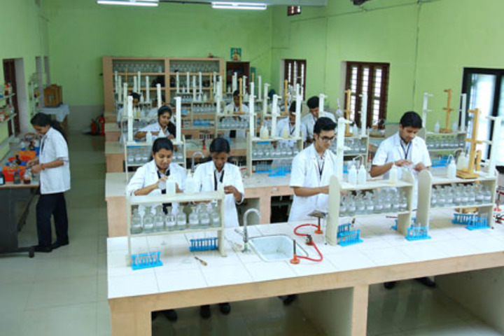 The Sacred Heart Public School-Chemistry Lab