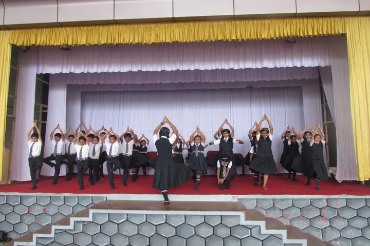 The Sacred Heart Public School-Yoga Day