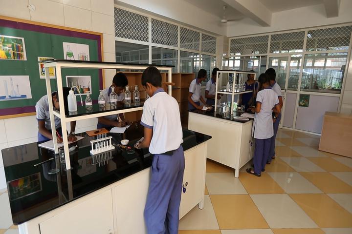 The Sobha Academy-Chemistry Labs