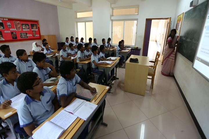 The Sobha Academy-Classroom
