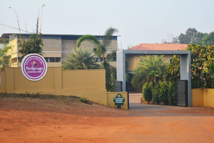 The Springs International Schools-School Entrance