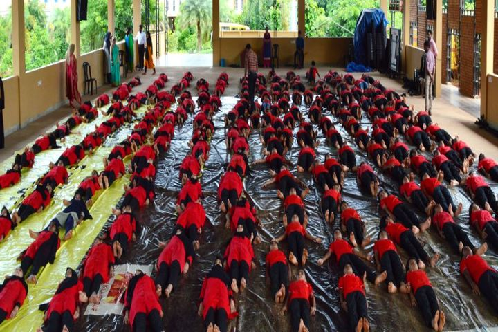 The Springs International Schools-Yoga Day