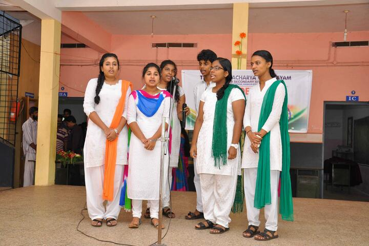 Thuchathacharya Vidyalayam-Group Song