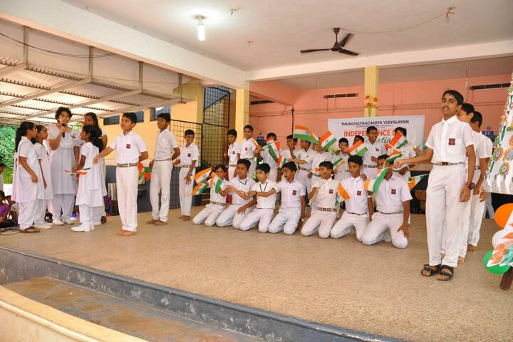 Thuchathacharya Vidyalayam-Independence Day