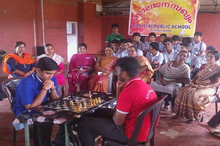 Toch Residential Public School-Chess