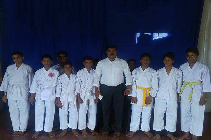 Toch Residential Public School-Karate