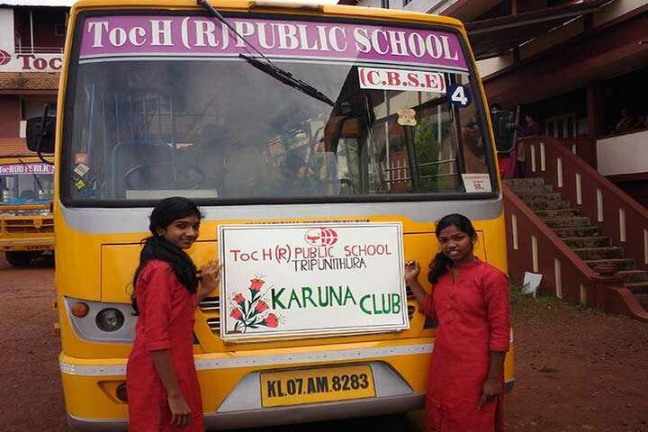 Toch Residential Public School-Transport
