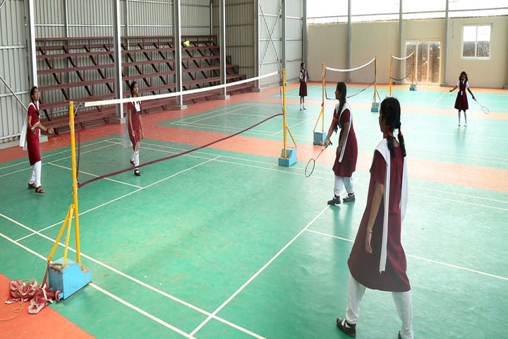 Ursuline senior secondary school - Badminton
