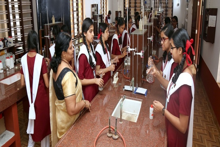Ursuline senior secondary school - Chemistry lab