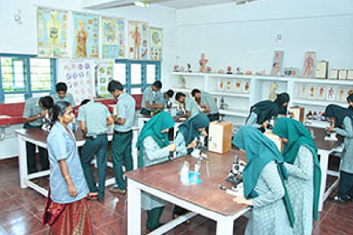 V P Mahamood Haji Memorial English School-Biology Lab