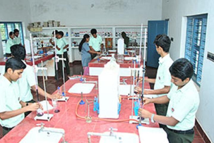 V P Mahamood Haji Memorial English School-Chemistry Lab