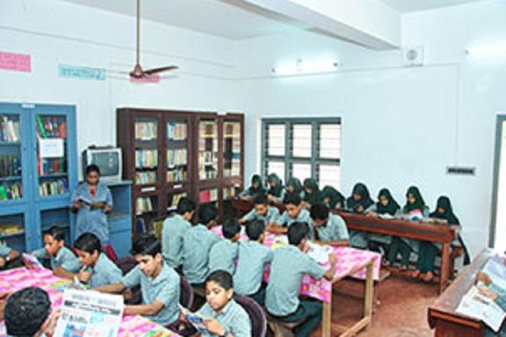 V P Mahamood Haji Memorial English School-Library