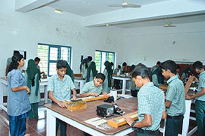 V P Mahamood Haji Memorial English School-Physics Lab
