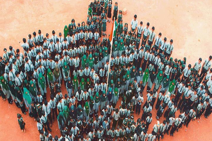 V P Mahamood Haji Memorial English School-Republic Day