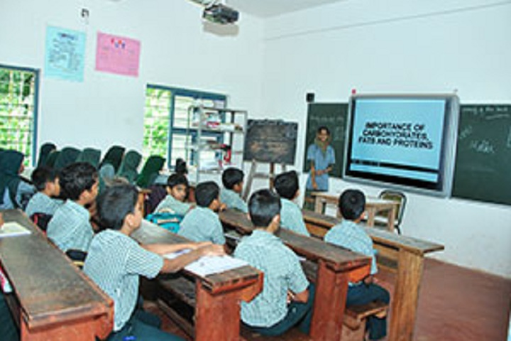 V P Mahamood Haji Memorial English School-Smart Class Room