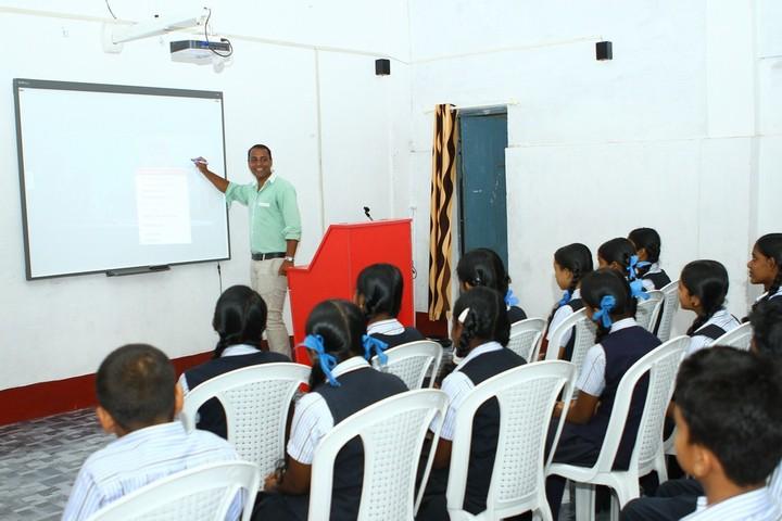 Varmas public school - smart class