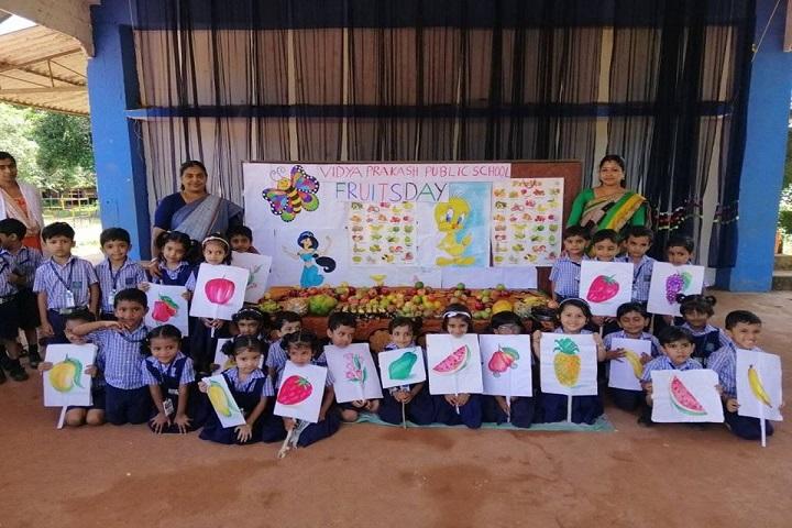 Vidya Prakash Public School-Fruits Day Celebration