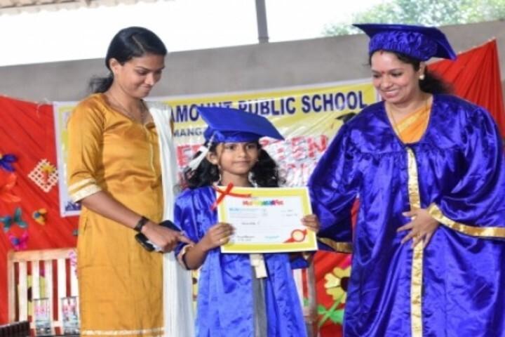 Vidyamount Public School-Graduation Ceremony