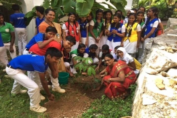 Vidyamount Public School-Planting Tree
