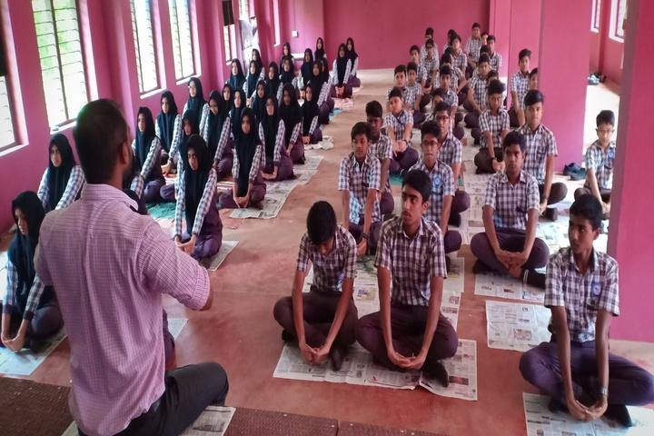Vidyanagar public school - international yoga day